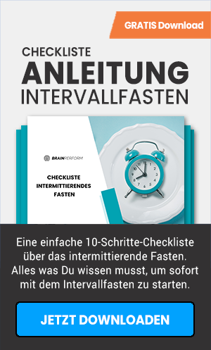 Checkliste Intervallfasten